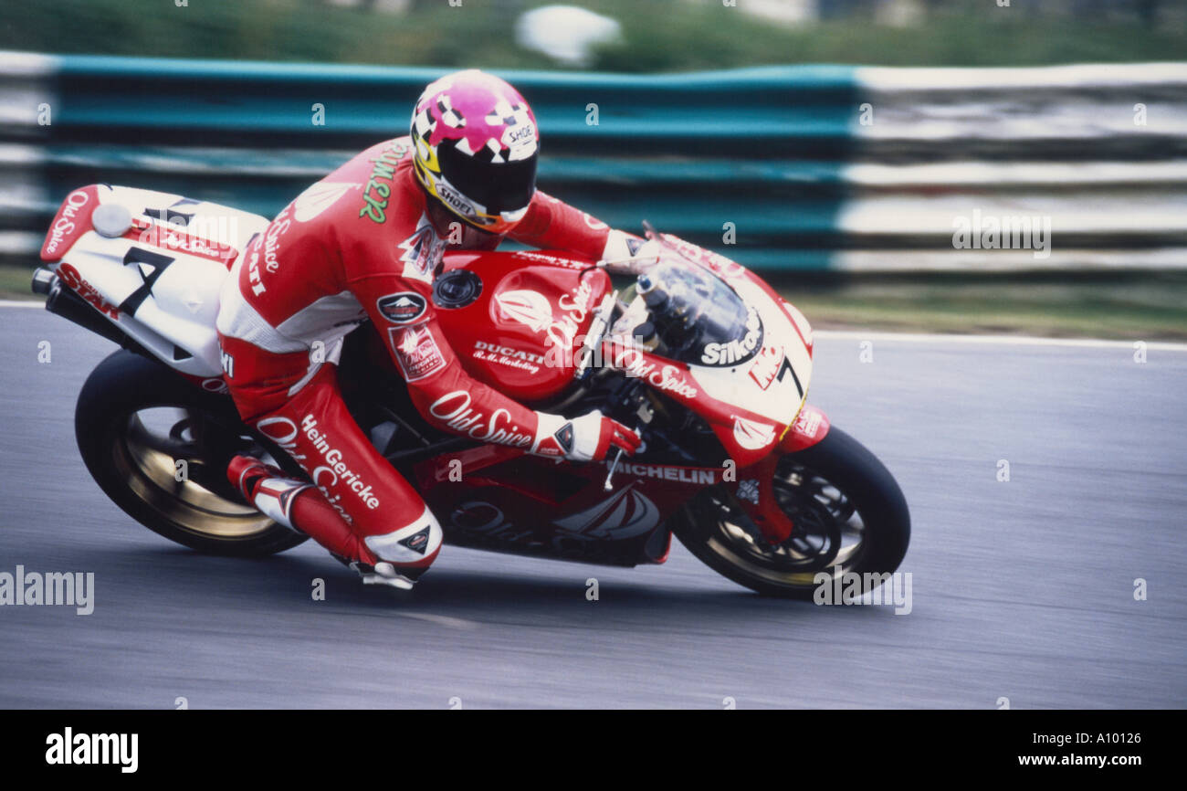 Terry Rymer at Brands Hatch - Stock Image