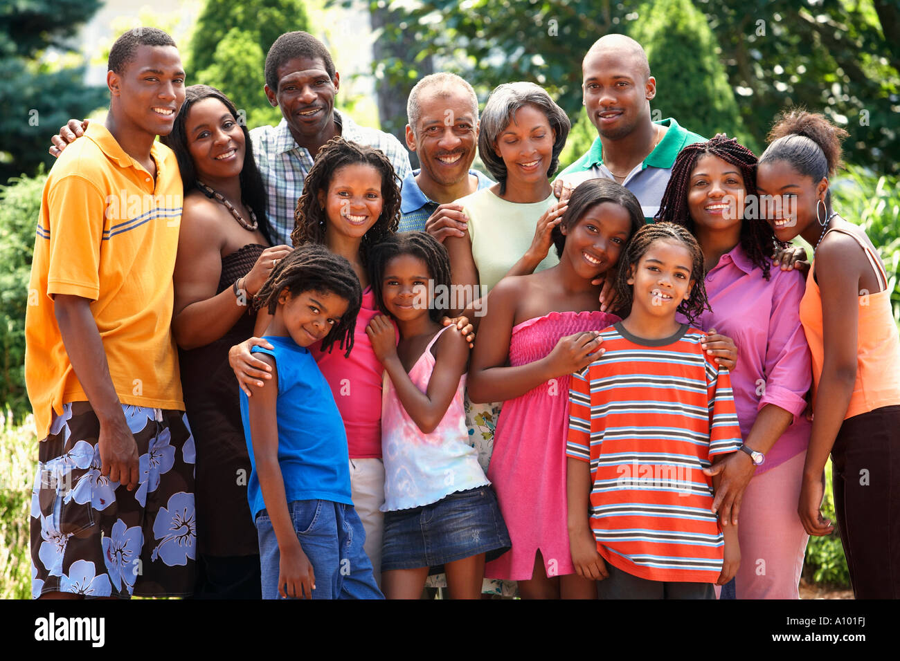 extended african family smiling together stock photo 10098437 alamy