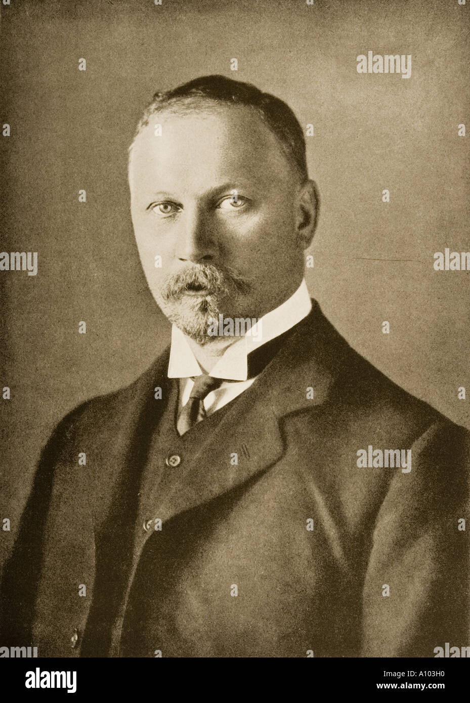Jan Christiaan Smuts 1870 - 1850. South African statesman - Stock Image