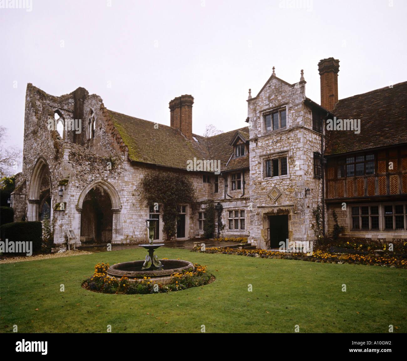 Medmenham Abbey, Buckinghamshire Stock Photo