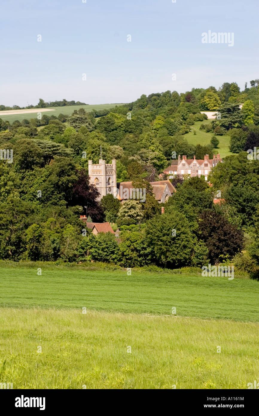 Hambleden Village Thames Valley Bucks - Stock Image