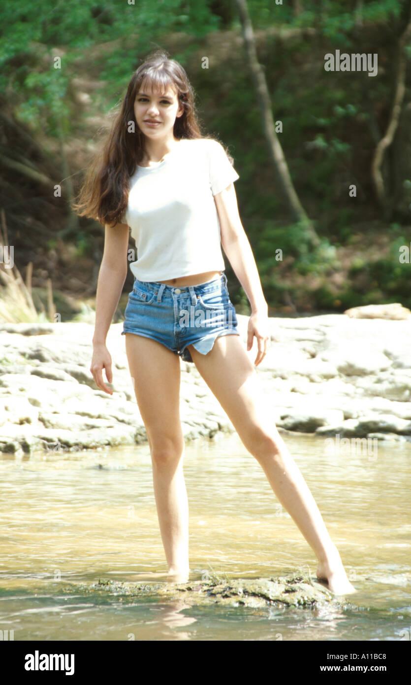 Marilyn Ball Teen Model Stock Photo: 72664 - Alamy