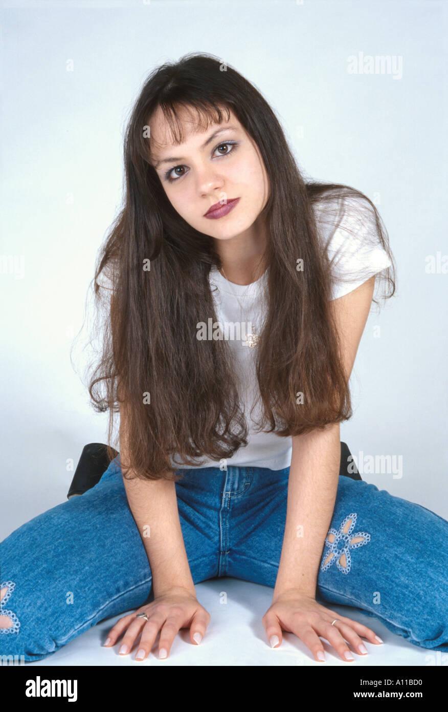 Marilyn Ball Teen Model Stock Photo: 72662 - Alamy
