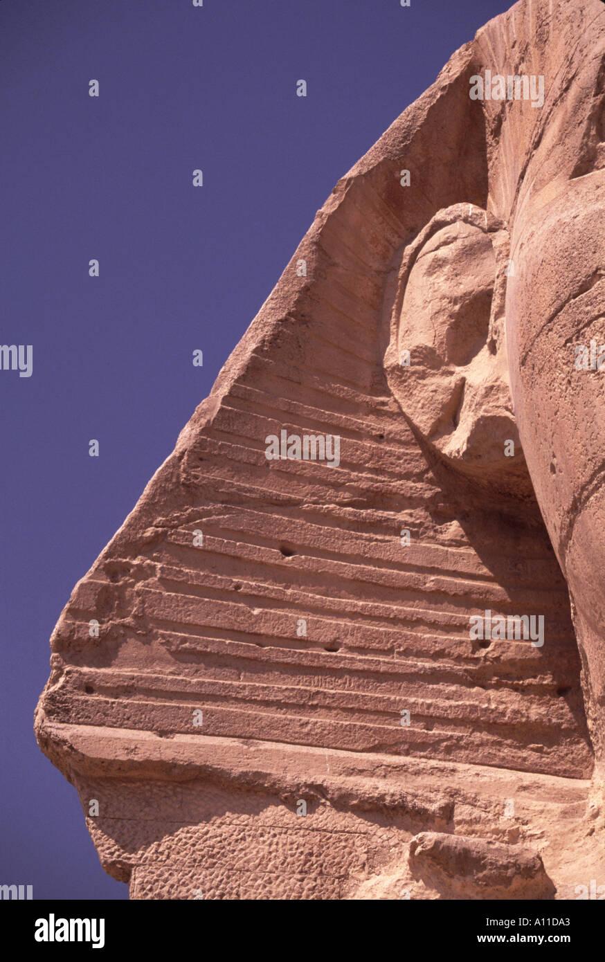 Sphinx Egypt Giza - Stock Image