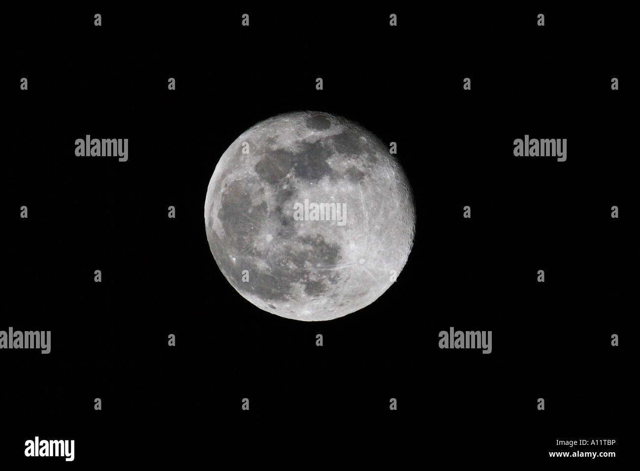 Moon, Mond - Stock Image