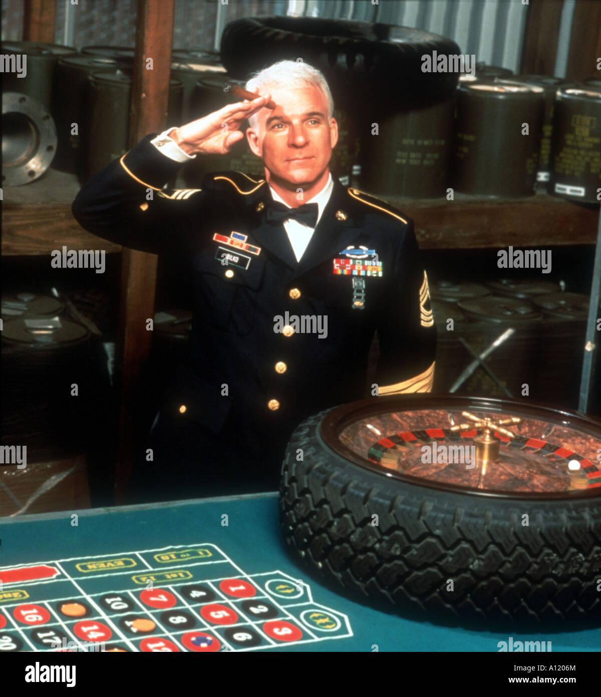 Sgt Bilko Year 1997 Director Johnathan Lynn Steve Martin - Stock Image