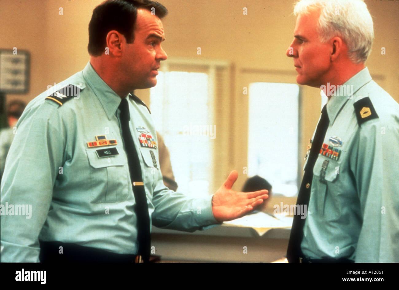Sgt Bilko Year 1997 Director Johnathan Lynn Steve Martin Dan Aykroyd - Stock Image