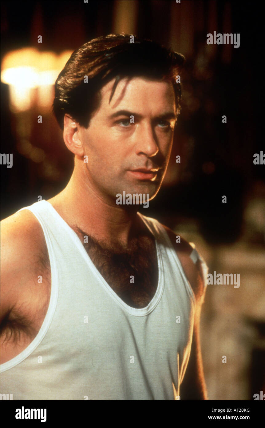 The Shadow Year 1994 Director Russell Mulcahy Alec Baldwin Stock Photo