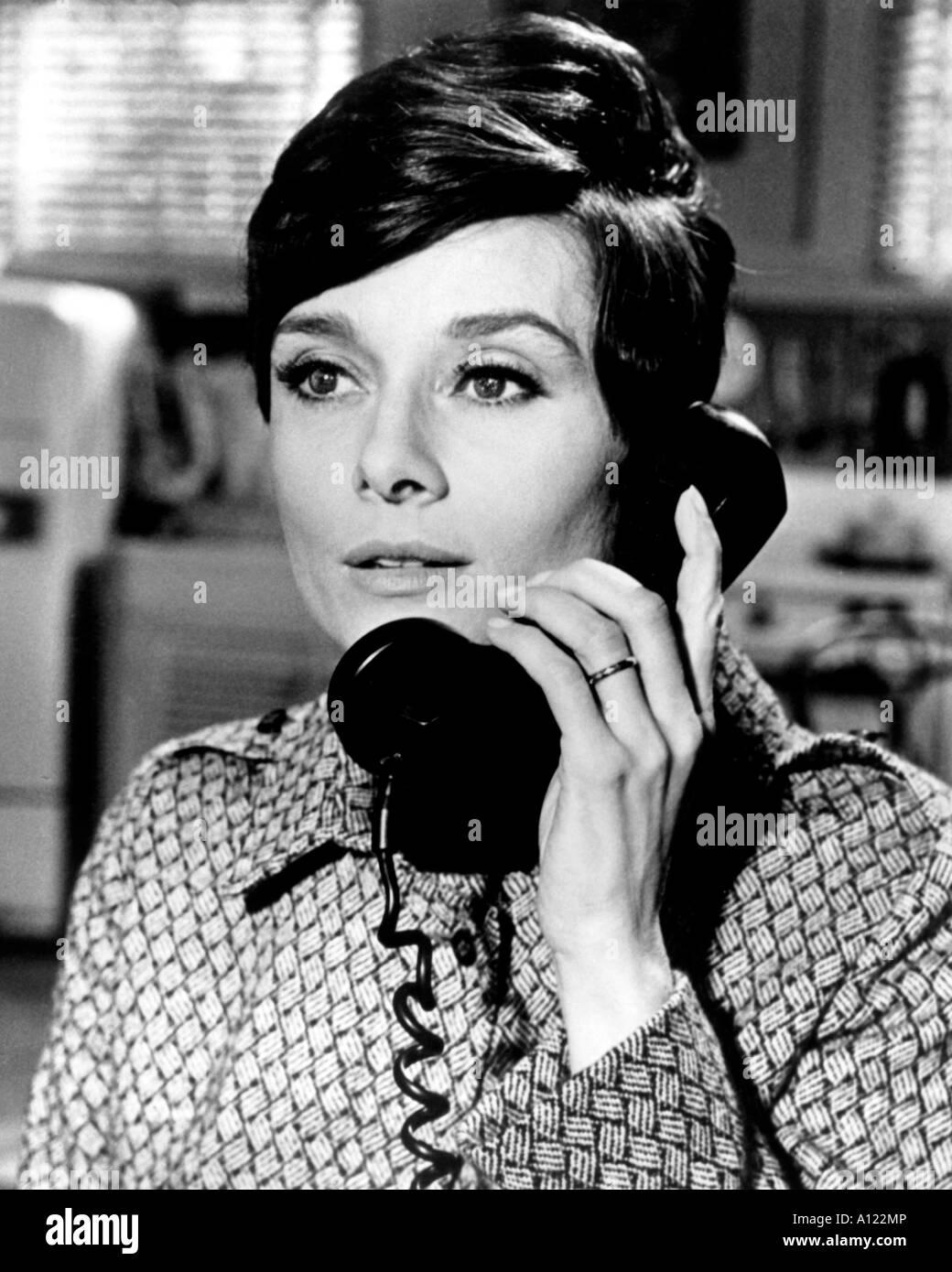 Wait Until Dark Year 1967 Director Terence Young Audrey Hepburn - Stock Image