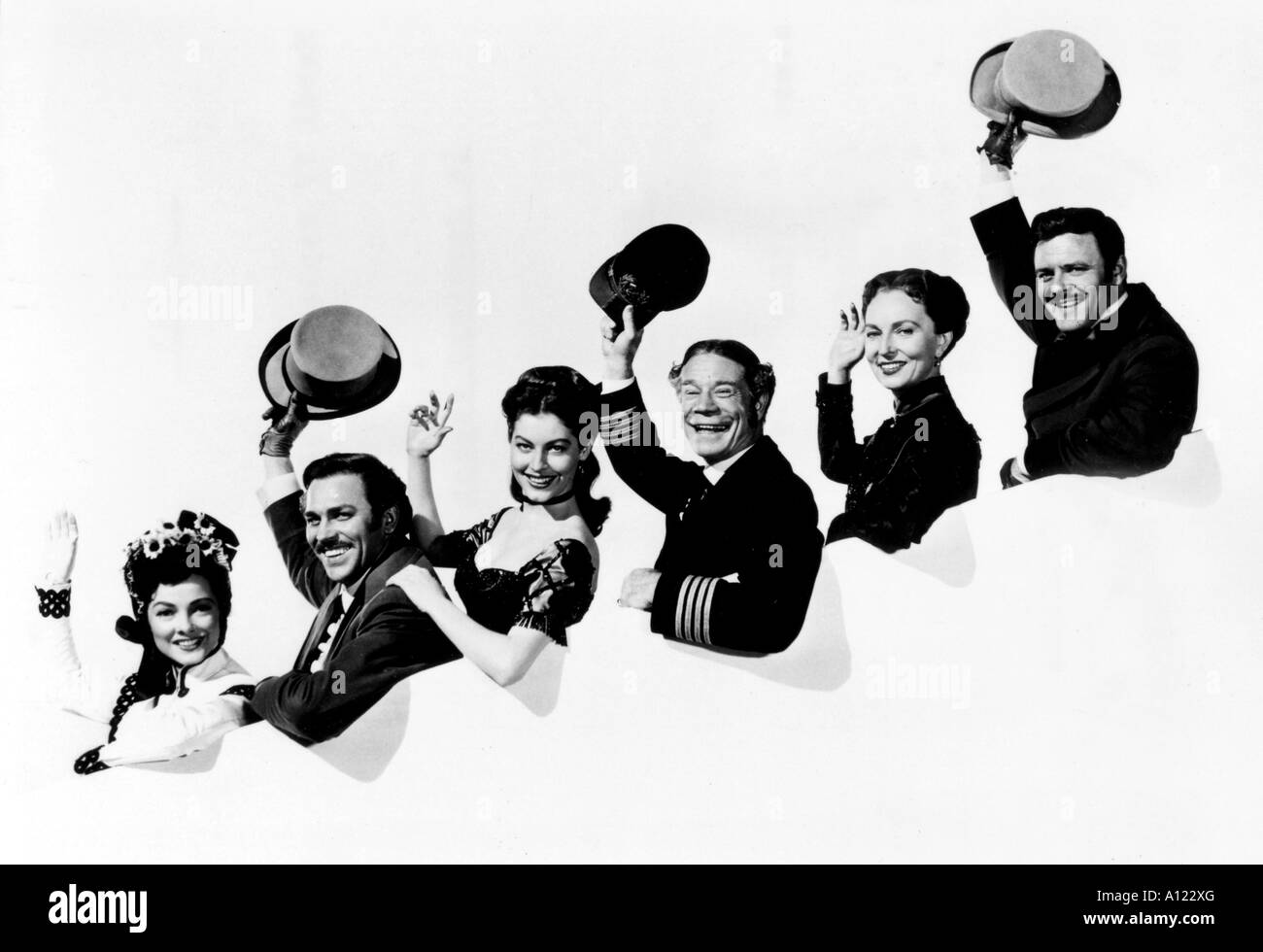 Show Boat Year 1950 Director George Sidney Kathryn Grayson Howard Keel Ava Gardner Joe E Brown Agnes Moorehead Robert - Stock Image