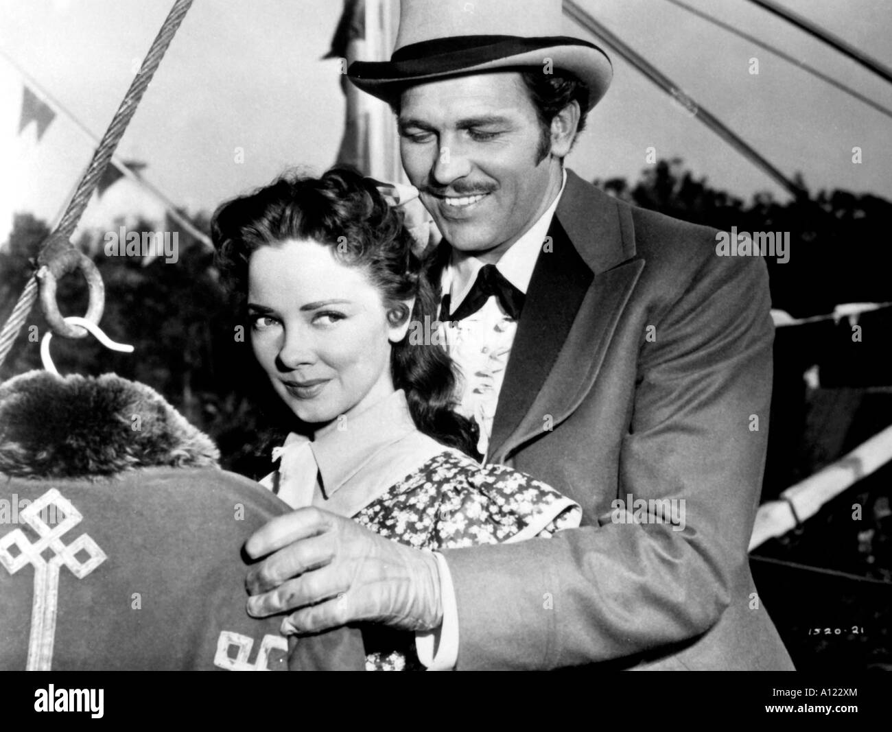 Show Boat Year 1950 Director George Sidney Kathryn Grayson Howard Keel - Stock Image