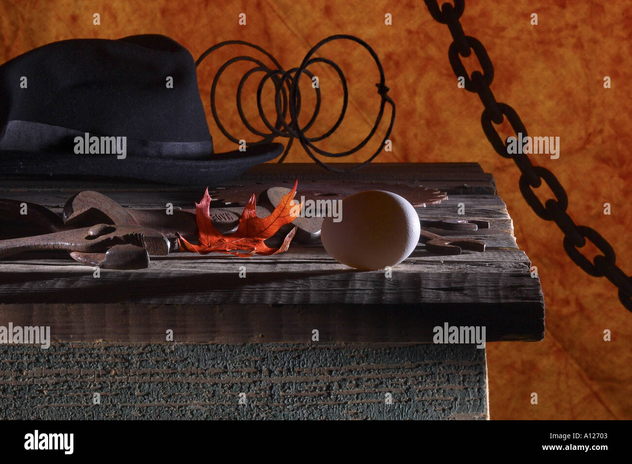 Eclectic Still Life - Stock Image