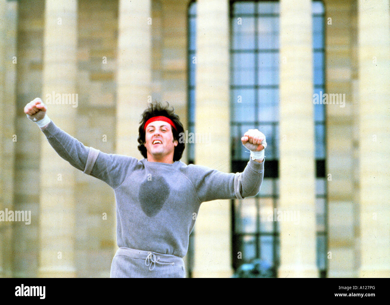 Rocky II Year 1979 Director Sylvester Stallone Sylvester Stallone - Stock Image