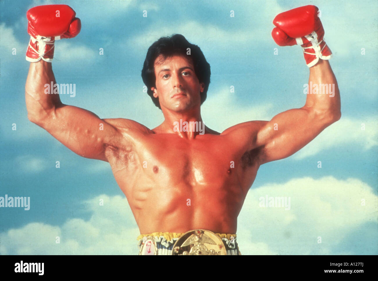 Rocky III Year 1982 Director Sylvester Stallone Sylvester Stallone - Stock Image