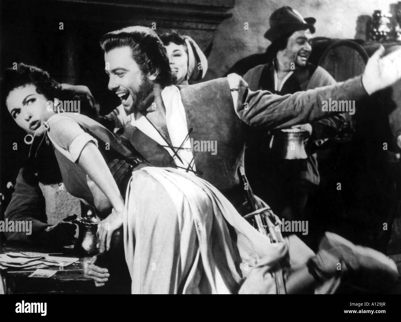 The Vagabond King Year 1956 Director Michael Curtiz Oreste - Stock Image