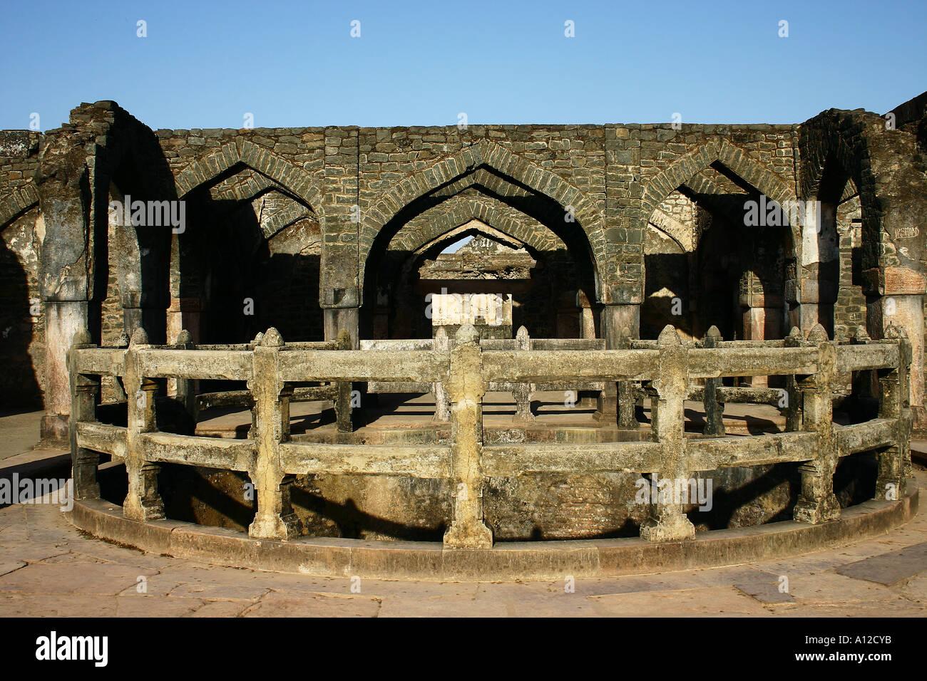 RSC75089 Champa Baodi 1500 AD Mandu Madhya Pradesh India - Stock Image