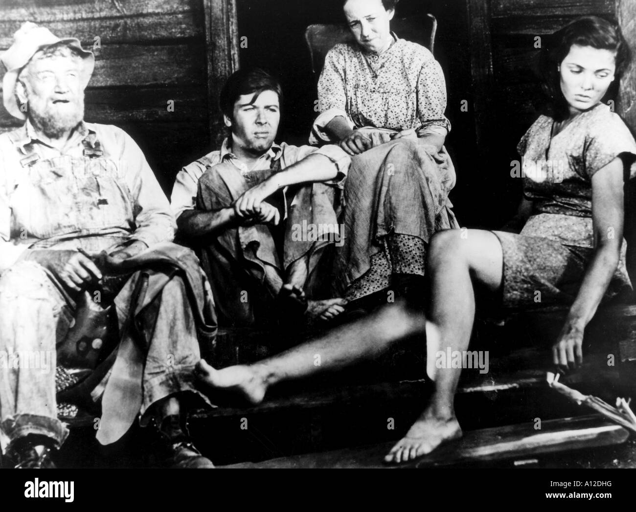 Tobacco Road Year 1941 Director John Ford Charley Grapewin Elizabeth Patterson Gene Tierney William Tracy Based - Stock Image
