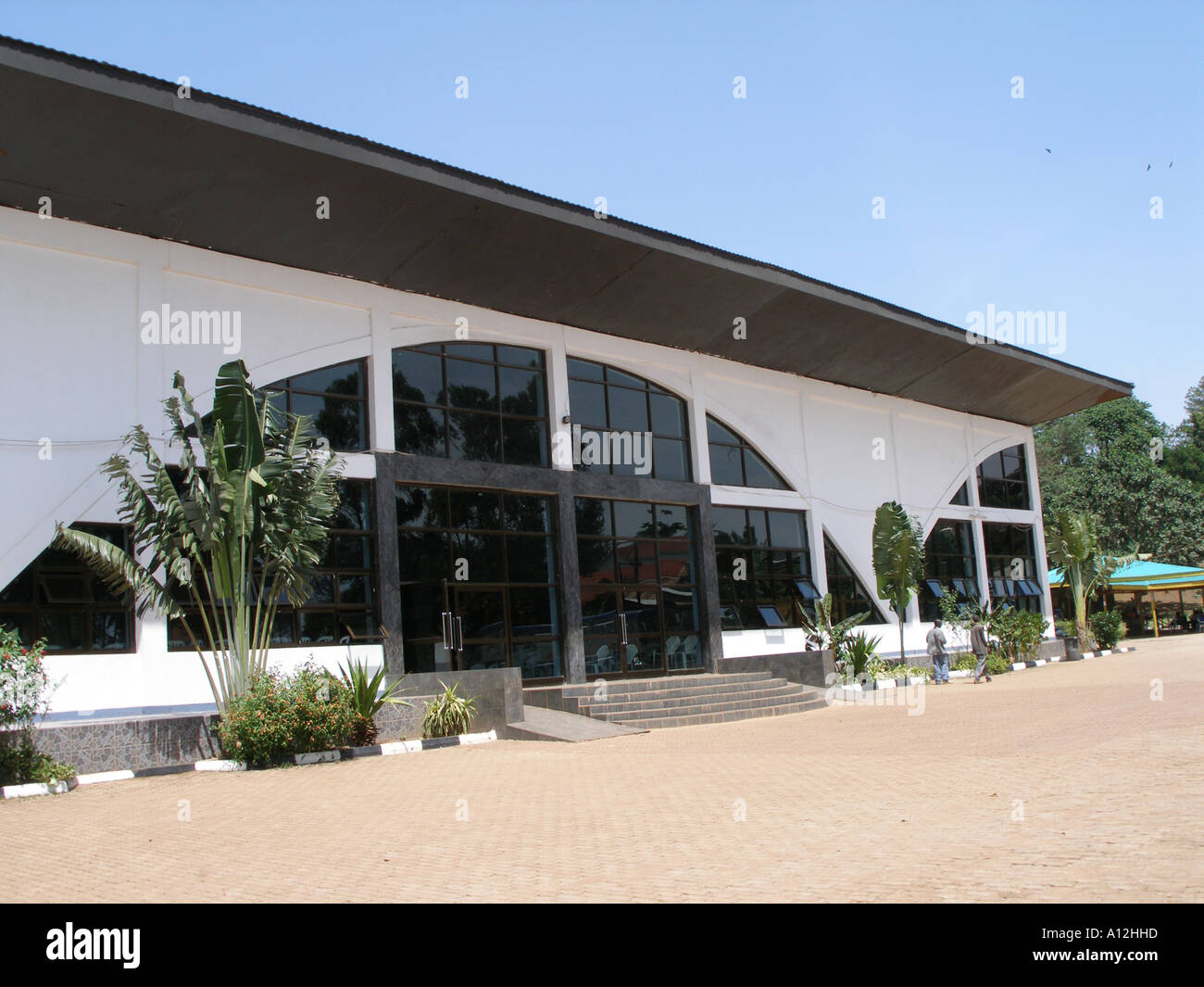 Miracle Centre Cathedral, 10000 seater pentecostal church in Kampala, Uganda - Stock Image