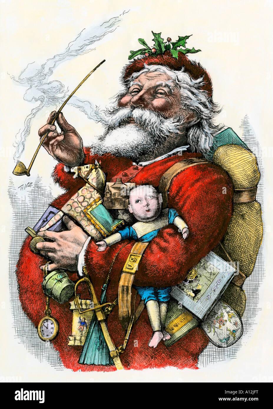 Thomas Nast Weihnachtsmann