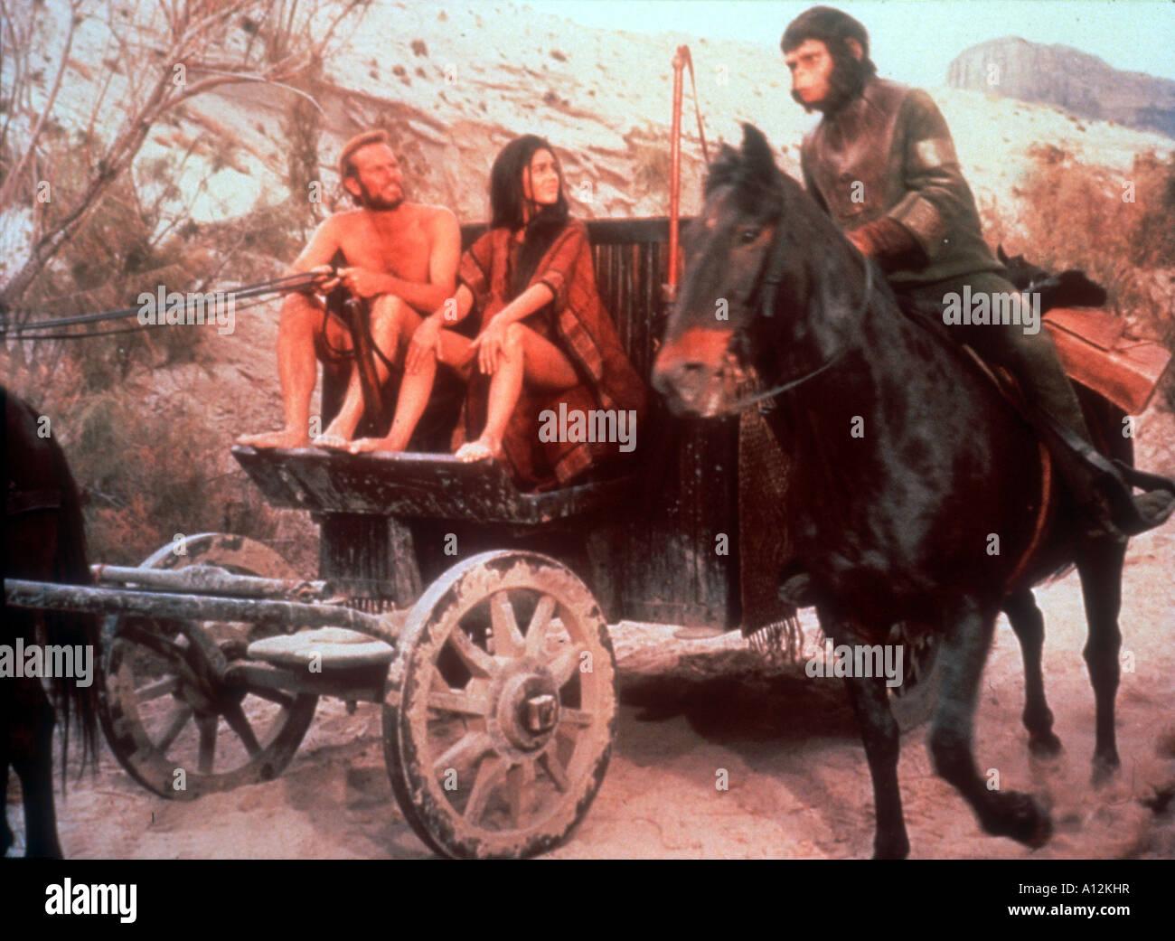 Beneath The Planet Of Apes Year 1970 Director Ted Post Charlton Heston Kim Hunter Linda Harrison Based upon Pierre - Stock Image