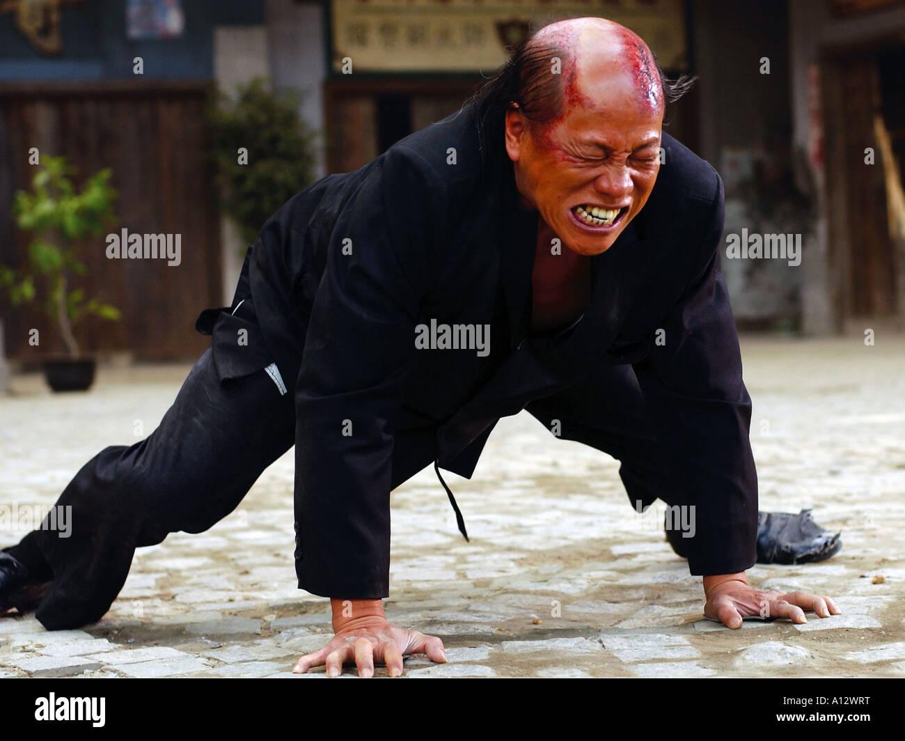 китайский кино кунфу любят попарить