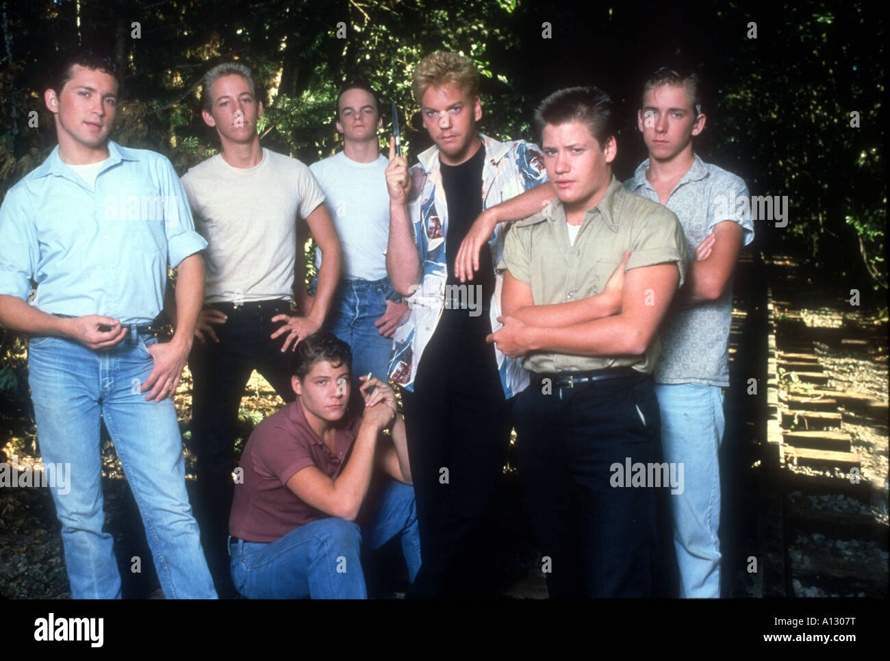 Stand By Me Year 1986 Director Rob Seiner Kiefer ...
