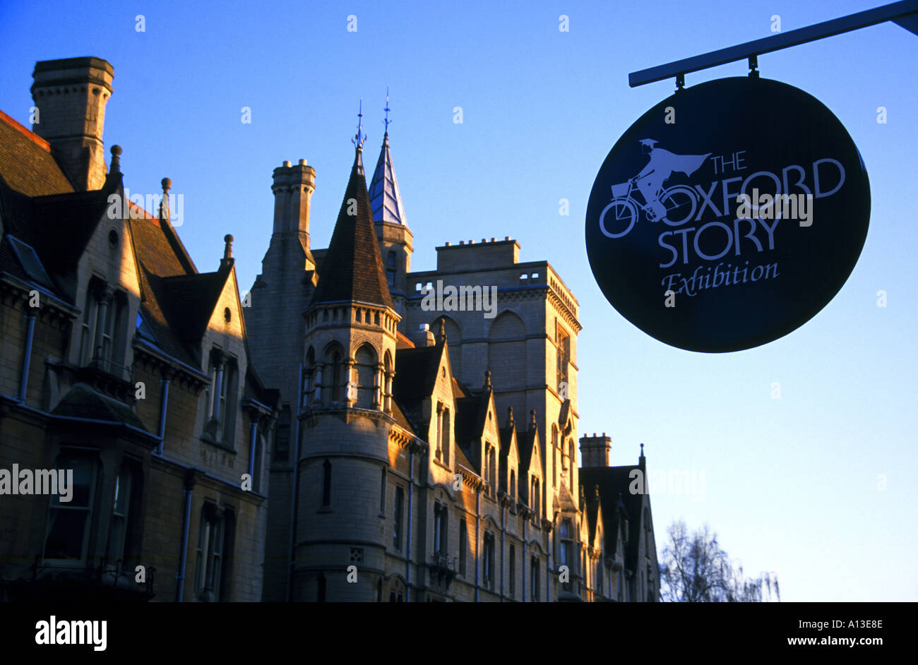 The Oxford Story Museum - Stock Image