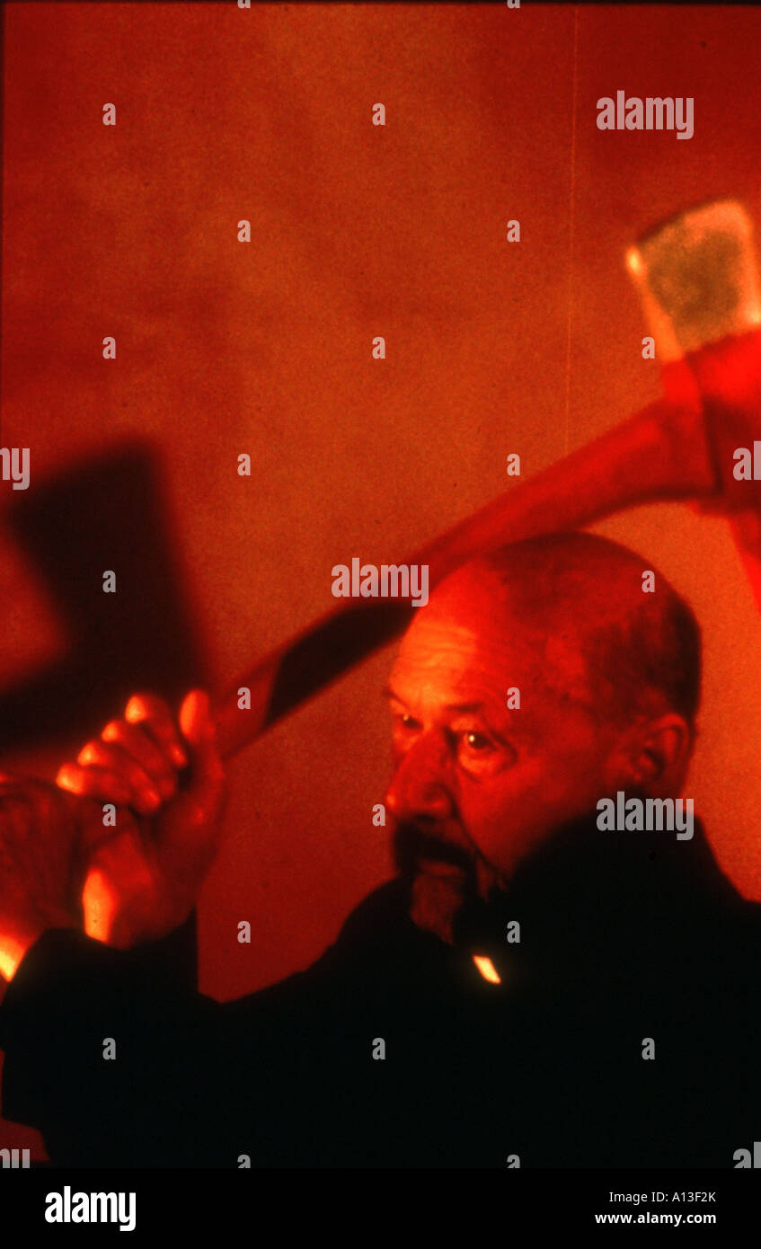 Prince Of Darkness Year 1987 Director John Carpenter Donald Pleasence - Stock Image