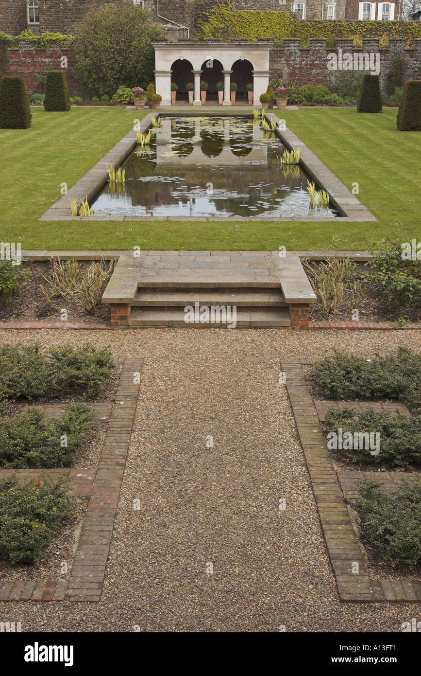Queen Elizabeth the Queen Mother s garden at Walmer Castle Deal Kent ...