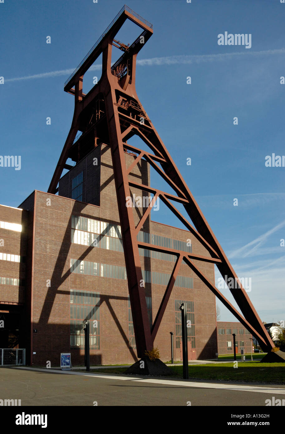 Unesco Coal Mine Zollverein, Pit XII, Essen, Germany. - Stock Image