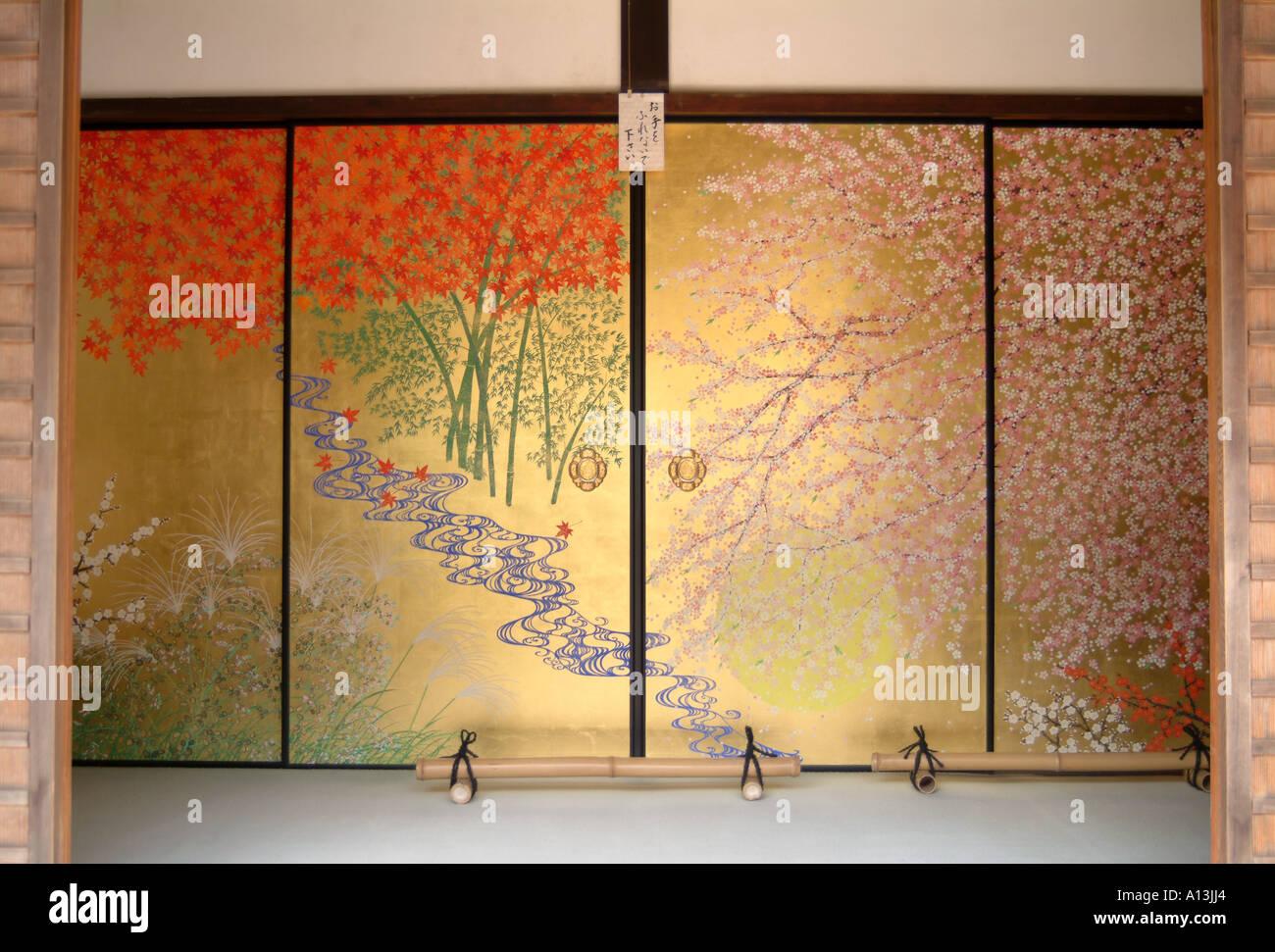 Japanese Screen Doors Stock Photos & Japanese Screen Doors Stock ...