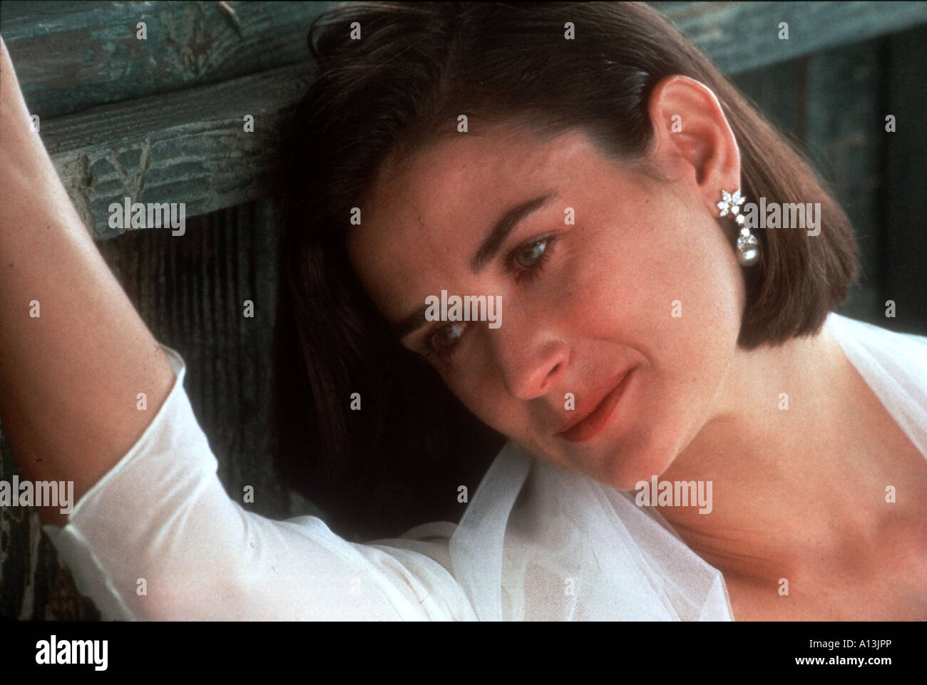 Indecent Proposal Year 1993 Director Adrian Lyne Demi Moore - Stock Image