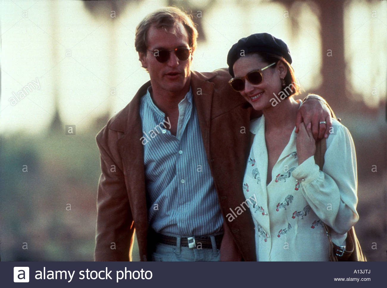 Indecent Proposal Year 1993 Director Adrian Lyne Demi Moore Woody Harrelson - Stock Image