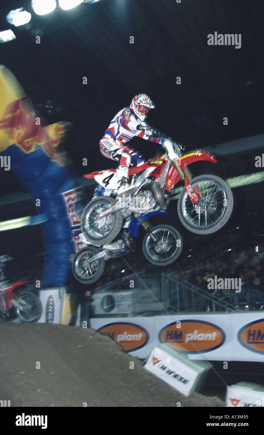 Sport Sports Motocross Racing  Stock Photo