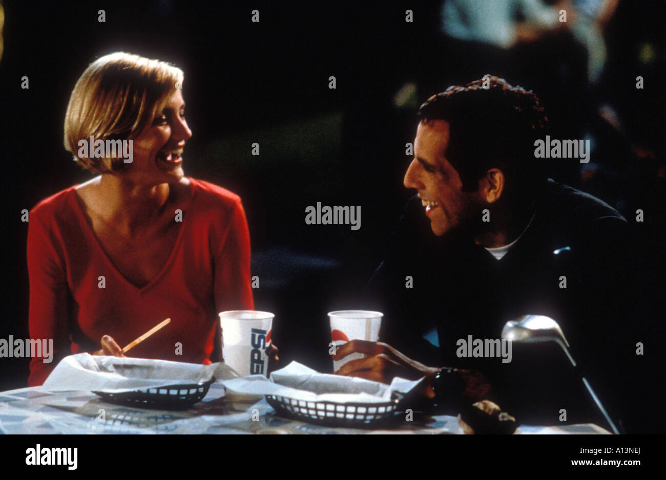 There s Something About Mary Year 1998 Directors Bobby and Peter Farrelly Cameron Diaz Ben Stiller - Stock Image