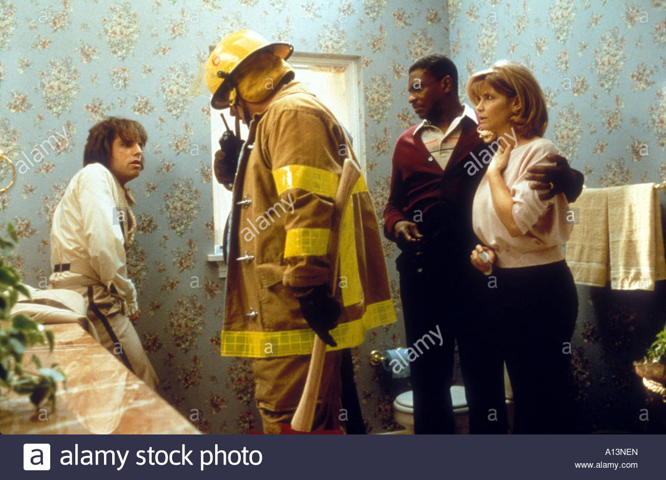 There s Something About Mary Year 1998 Directors Bobby and Peter Farrelly Keith David Ben Stiller Markie Post - Stock Image