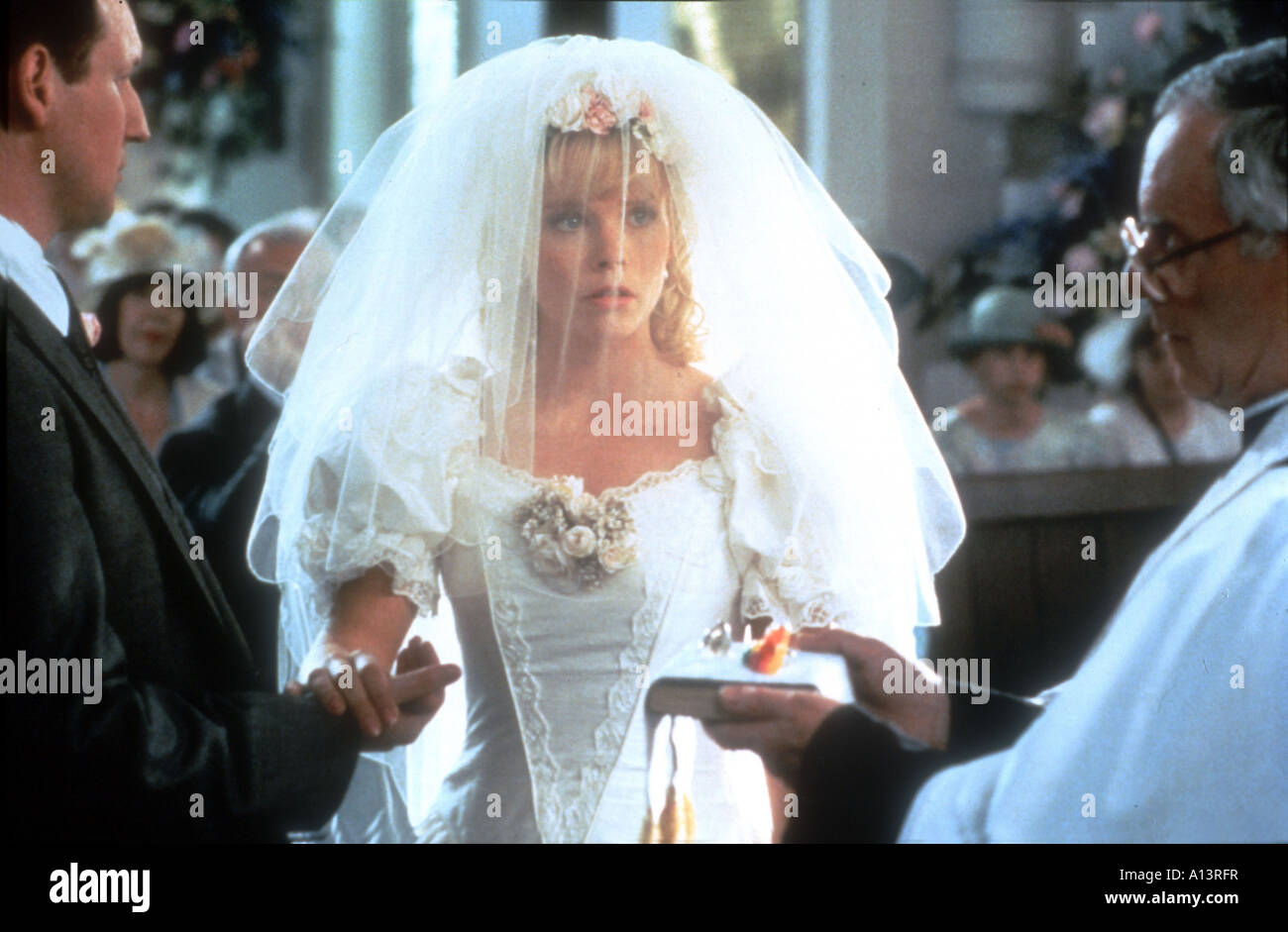 Four Weddings And A Funeral Year 1994 Director Mike Newell Stock