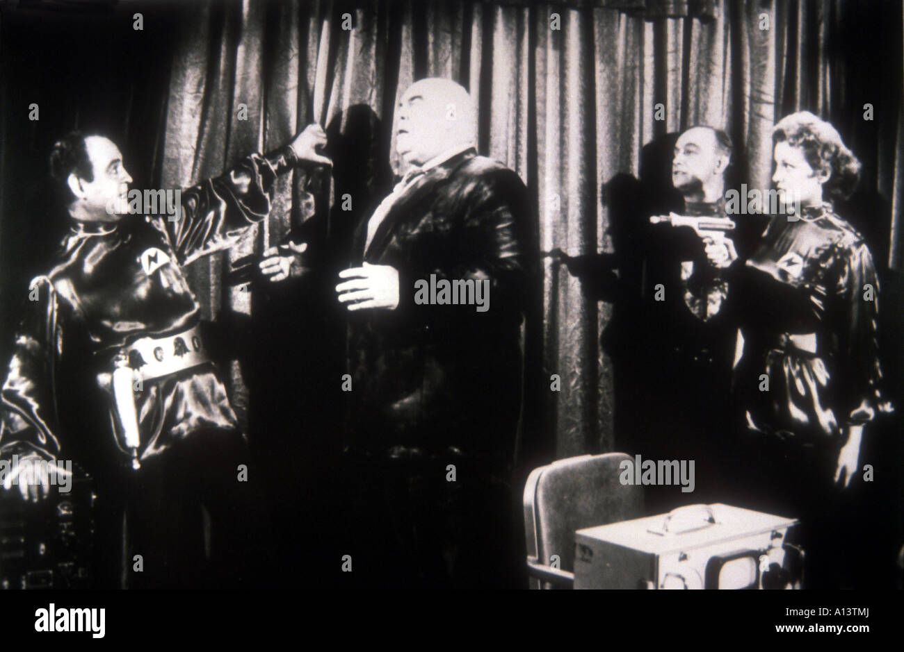 Plan 9 from Outer Space Year 1958 Director Edward D Wood Jr - Stock Image