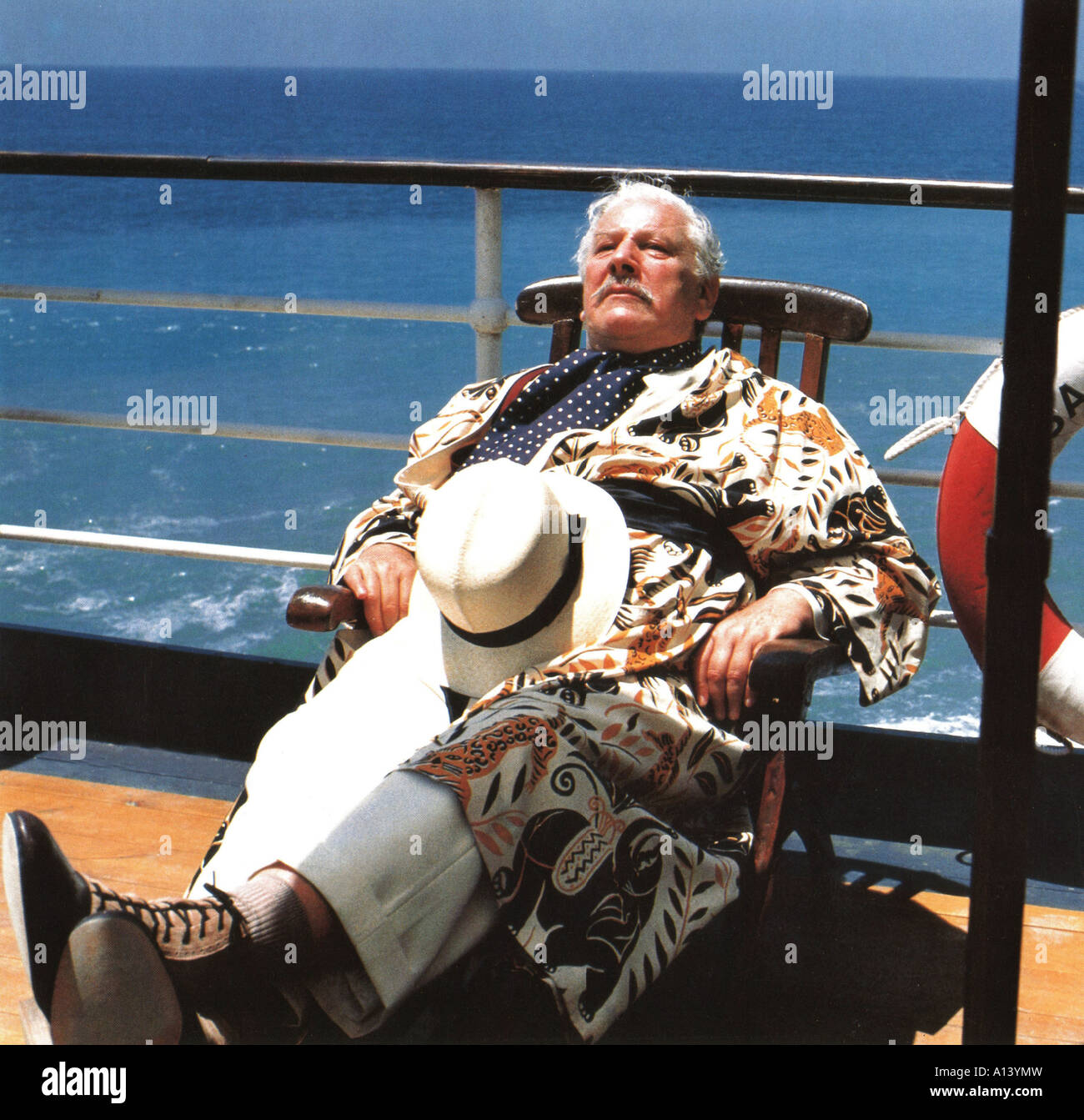 Appointment With Death Year 1987 Director Michael Winner Peter Ustinov Based upon Agatha Christie s book - Stock Image