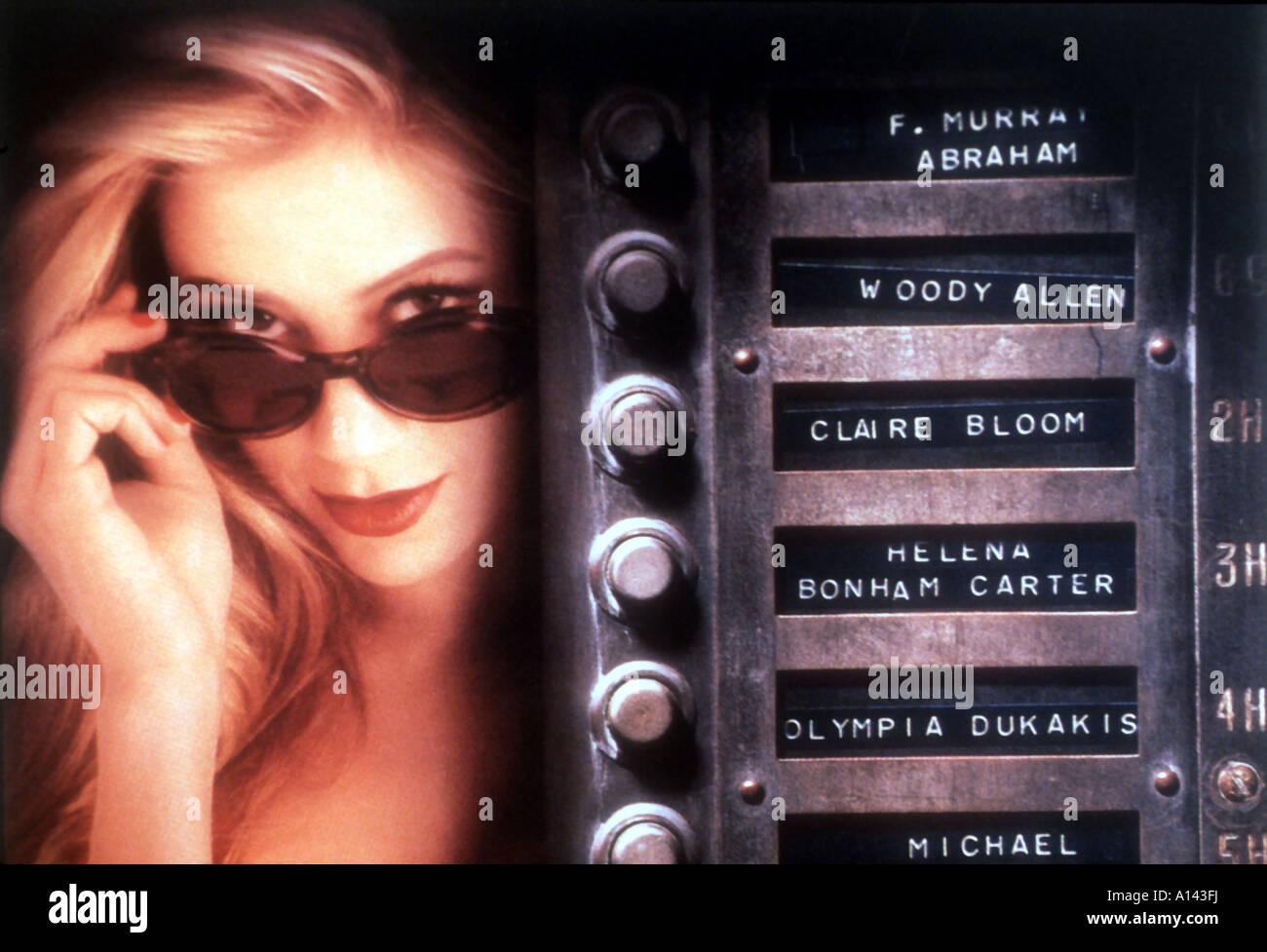 Mighty Aphrodite Year 1995 Director Woody Allen Mira Sorvino - Stock Image