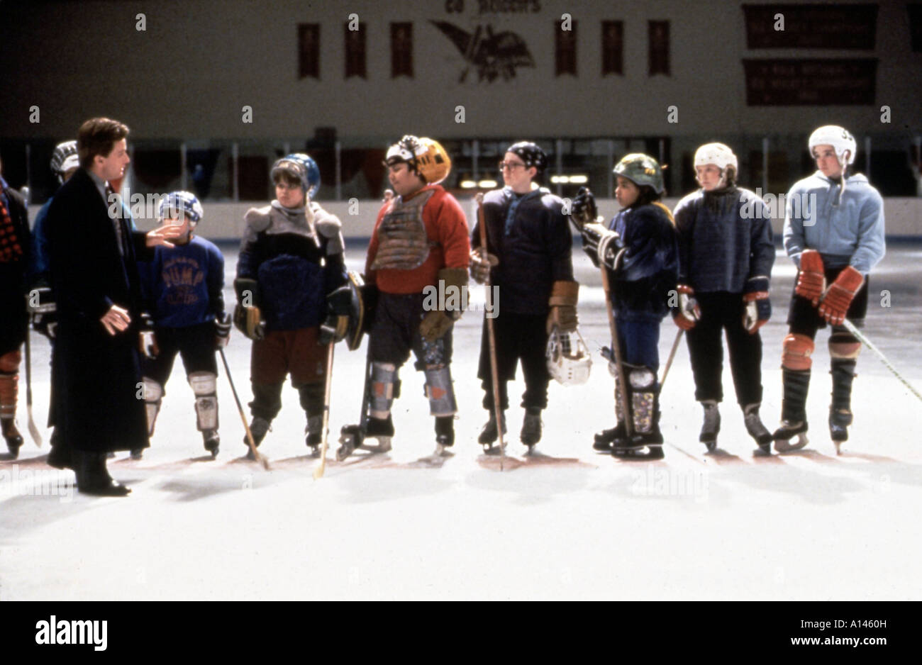The Mighty Ducks Year 1992 Director Stephen Herek - Stock Image