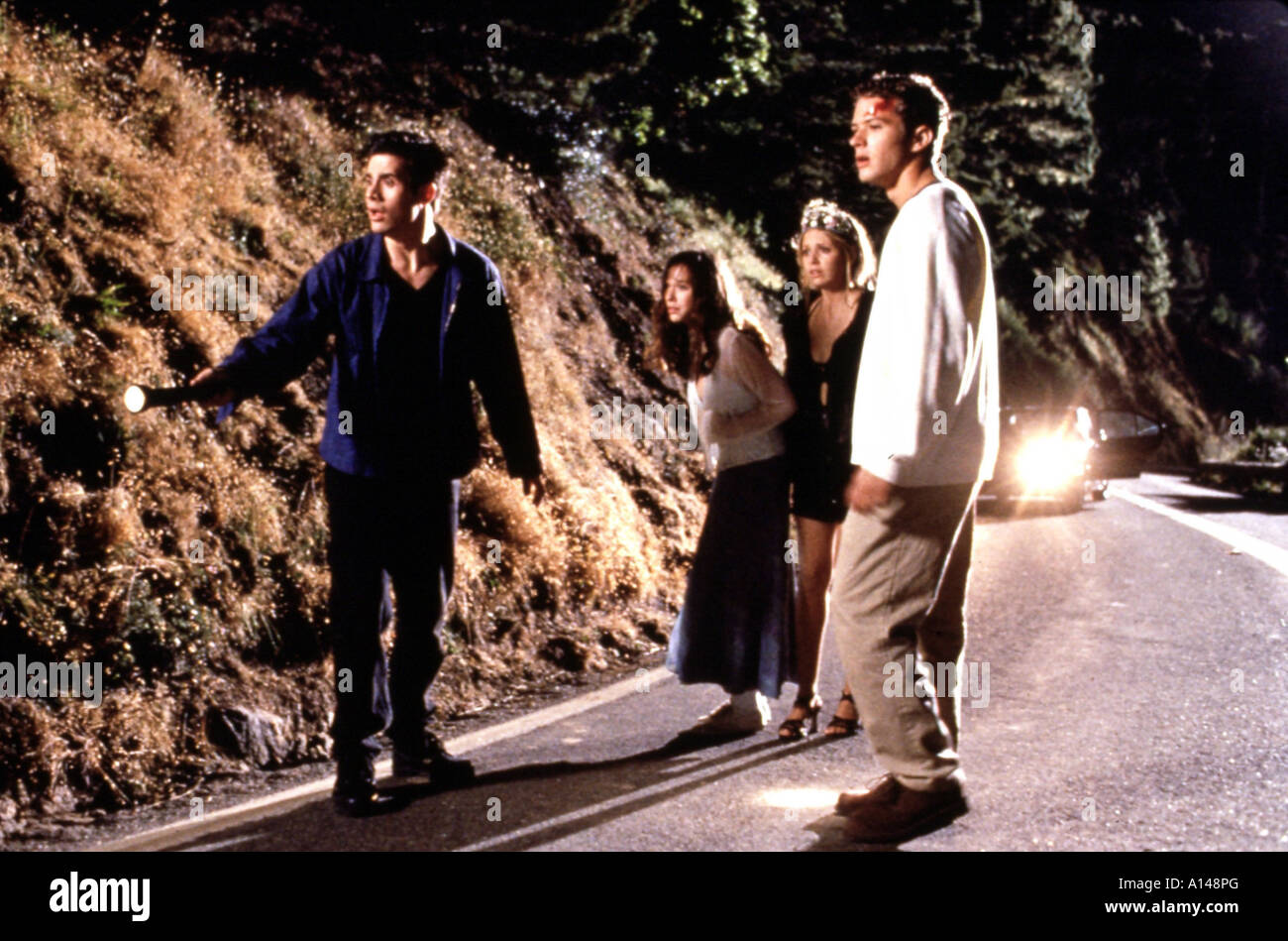 I know what you did last summer Year 1997 Director Jim Gillespie Freddie Prinze Jr Jennifer Love Hewitt Sarah Michelle Stock Photo
