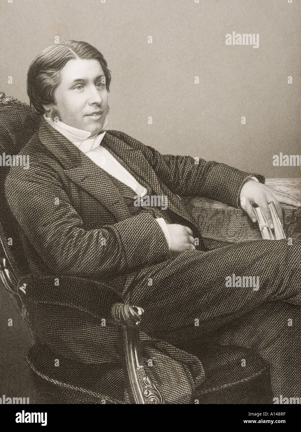 Charles Haddon Spurgeon commonly C H Spurgeon 1834 1892 British Baptist preacher - Stock Image