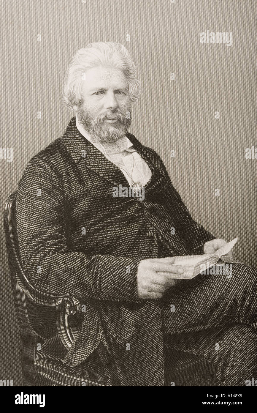 Robert Chambers 1802 1871 Scottish author publisher and natural philosopher - Stock Image