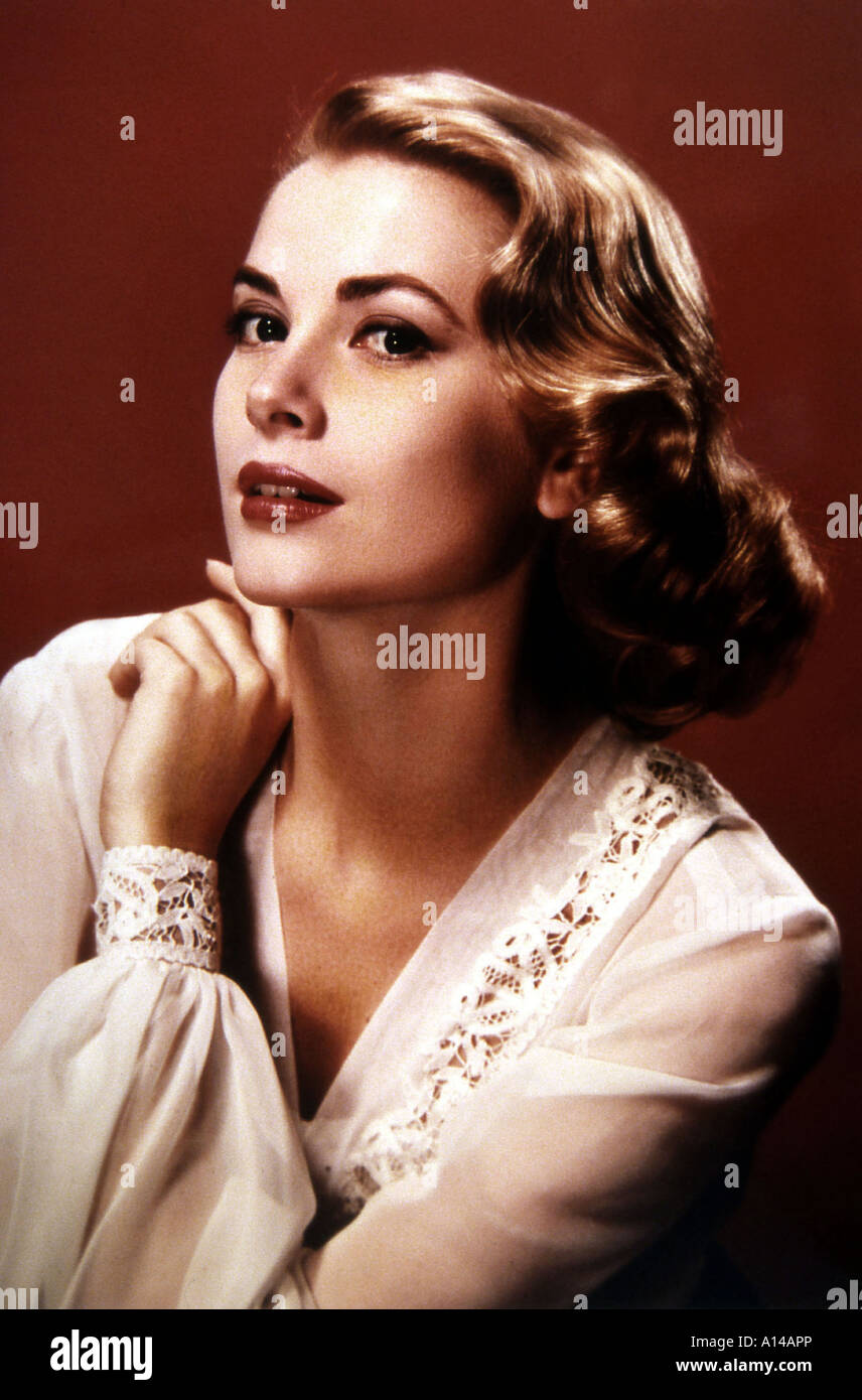 Grace Kelly Actress - Stock Image