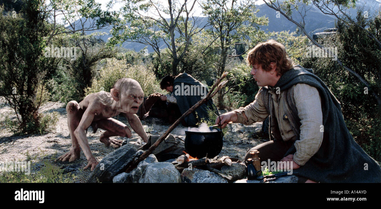 LORD OF THE RINGS - THE TWO TOWERS - Stock Image