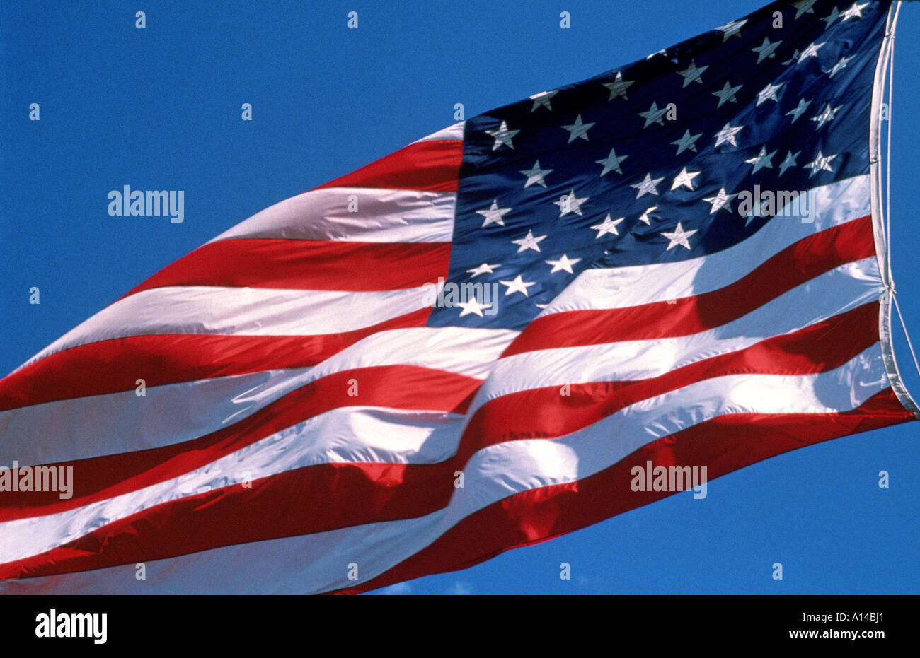 STARS AND STRIPES - Stock Image