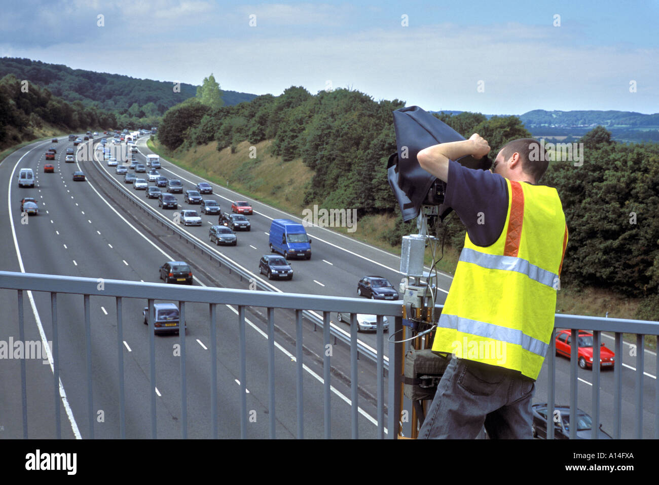 M5 Traffic Cameras Live >> Video Camera Monitoring Traffic Flow On The M5 Motorway Near Gordano