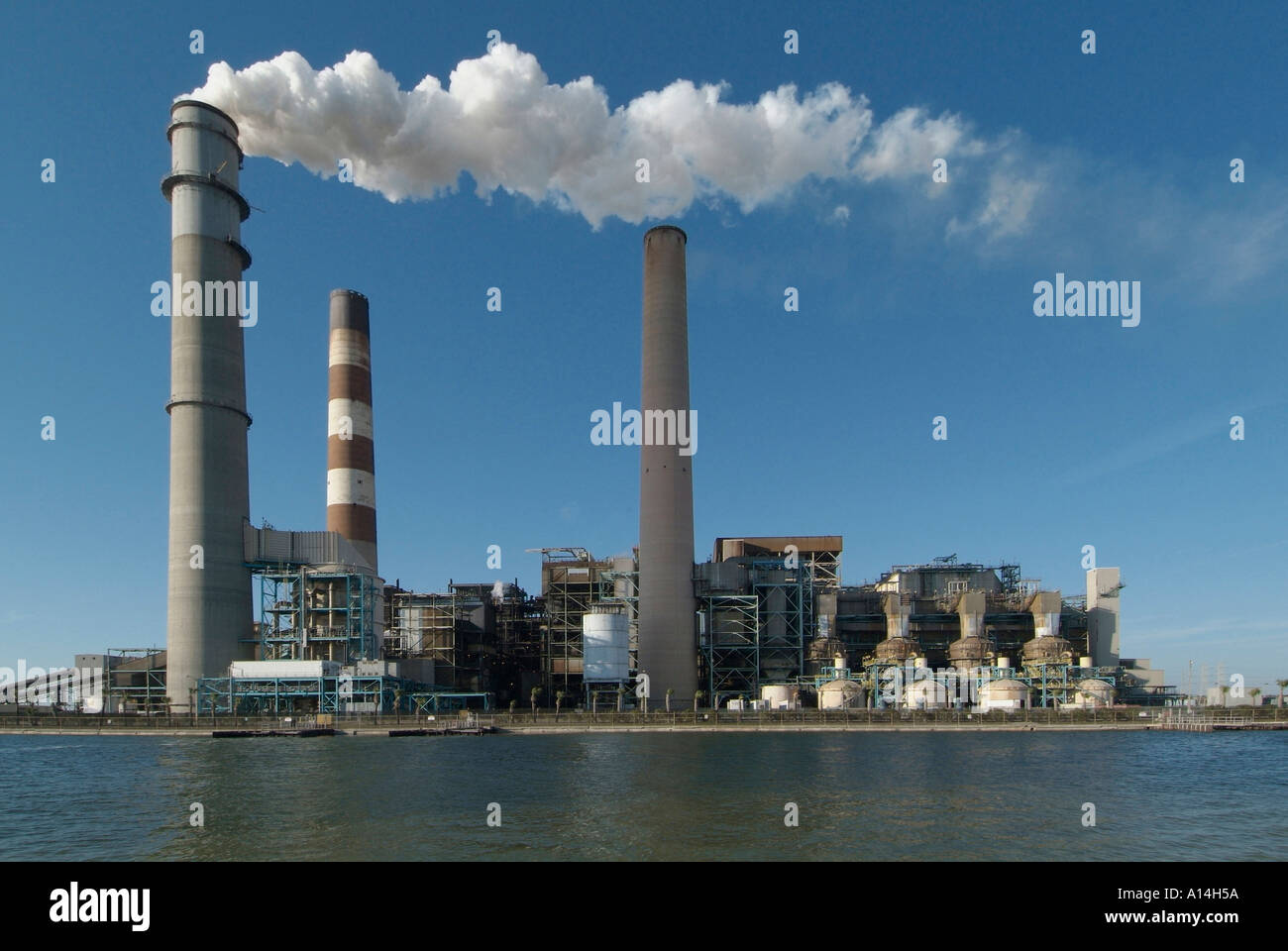 TECO power plant provide electricity to the city of Tampa and surrounding cities in Florida - Stock Image