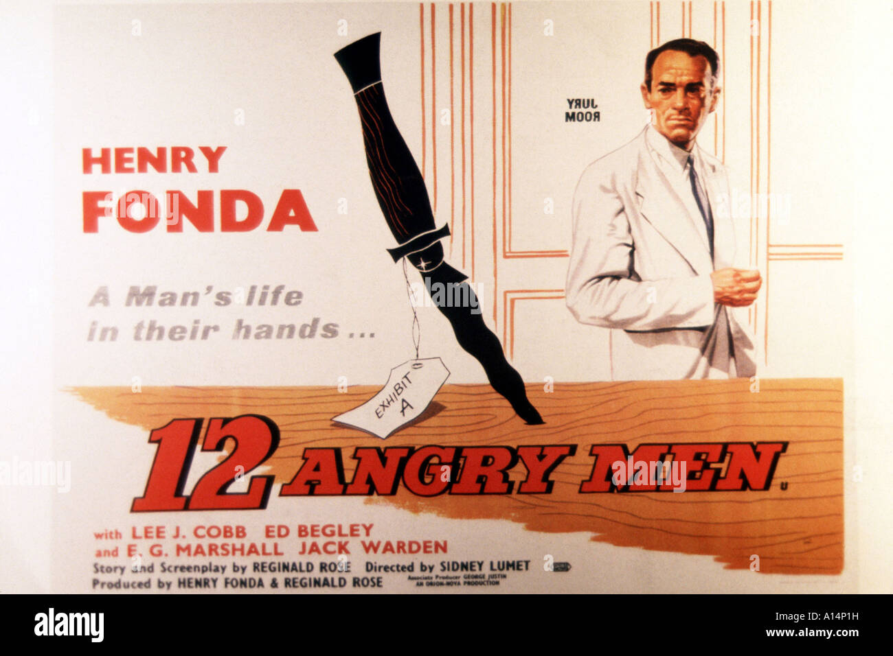 12 ANGRY MEN Movie PHOTO Print POSTER Glossy Textless Sidney Lumet 1957 002